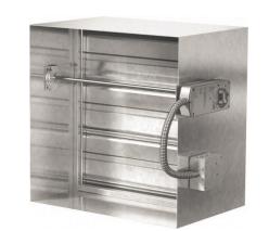 System ventilation system for Motorized smoke fire damper